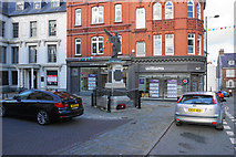 SJ0566 : Crown Square, Denbigh by Bill Boaden