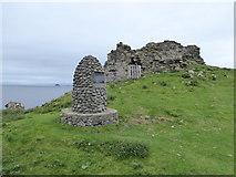 NG4074 : Duntulm Castle by Chris Morgan