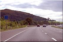 ST3857 : M5 southbound near Christon by J.Hannan-Briggs