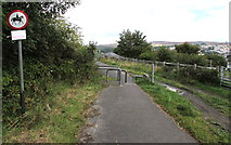 SO2508 : No horse riding beyond this point, Blaenavon by Jaggery