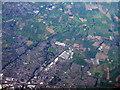 SJ6956 : Crewe, seen from over Sandbach by M J Richardson