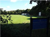 TQ5794 : Brook Weald Cricket Club, South Weald by Geographer