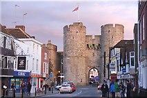 TR1458 : West Gate, Canterbury by Jim Barton