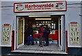 SX0144 : Mevagissey: Harbourside Ice Cream Parlour, Middle Wharf by Michael Garlick