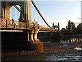 TQ2278 : Hammersmith Bridge by Stephen McKay