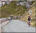 SH7584 : Cyclists on Marine Drive by Gerald England