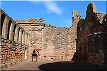 NS6859 : The Great Hall, Bothwell Castle by Billy McCrorie