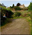 SO2603 : Waterloo Road house above a fenced-off hillside, Abersychan by Jaggery