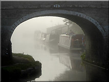 SJ8512 : Tavern Bridge at Wheaton Aston, Staffordshire by Roger  Kidd