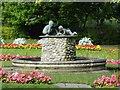 SE2955 : Fountain in the gardens by Steve  Fareham
