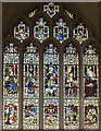 ST7564 : Kemble window, Bath Abbey by J.Hannan-Briggs