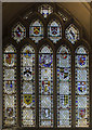 ST7564 : Benefactors window, Bath Abbey by J.Hannan-Briggs