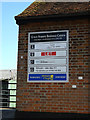 TQ5891 : Great Ropers Business Centre sign by Adrian Cable