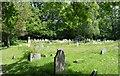 TQ5246 : Church of St Luke - graveyard by N Chadwick