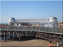 TQ8109 : New café, Hastings Pier by Oast House Archive