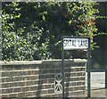 TQ5792 : Spital Lane sign by Geographer