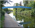 SP1391 : The closed Minworth Footbridge by Mat Fascione