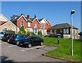 TQ5130 : Crowborough War Memorial Hospital by Simon Carey