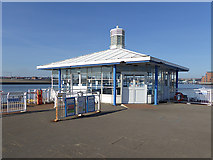 NZ3567 : Waiting room, South Shields Ferry Terminal by Oliver Dixon
