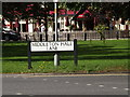 TQ6093 : Middleton Hall Road sign by Adrian Cable