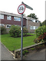 TQ6193 : Footpath sign off Princes Way by Adrian Cable