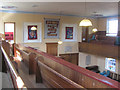 SP9212 : Balcony Seating in New Mill Baptist Church, Tring by Chris Reynolds