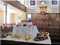 SP9212 : Ready for the Harvest Festival at New Mill Baptist Church by Chris Reynolds