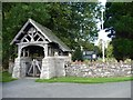 NY4826 : Lych gate, St Michael's Church, Barton by Christine Johnstone