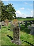 NY4826 : East side, St Michael's churchyard, Barton by Christine Johnstone