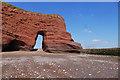 SX9777 : Langstone Rock, Dawlish Warren by Alan Hunt