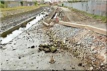 J3674 : Connswater path works, Belfast - October 2015(3) by Albert Bridge