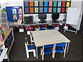 TQ2482 : Computers for nursery class, Ark Brunel Primary Academy by David Hawgood