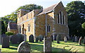 SK8008 : St Peter's Church and churchyard by Roger Templeman