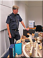 TQ3380 : Illegal ivory, Custom House London by David Hawgood