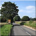 TL5448 : Nearing Hildersham Crossroads by John Sutton