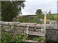 SE0811 : Stile from Deer Hill End Road onto path to Intake Lane, Meltham by Humphrey Bolton