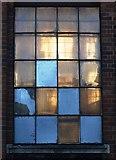 SP0687 : Industrial window on Livery Street, Birmingham by Neil Theasby