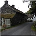 NY3204 : Elterwater Old Barn by Dave Thompson
