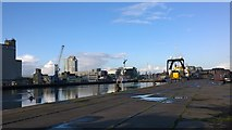 W6872 : Dublin Docks on the River Lee by James Emmans