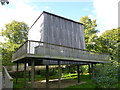 TF7928 : Skyspace, Seldom Seen structure - Houghton Hall by Richard Humphrey