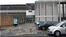 TQ2387 : Entrance to Brent Cross shopping centre by David Martin