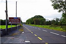 G5333 : N59 road at Leekfield, Skreen, Co. Sligo by P L Chadwick