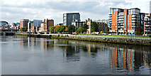 NS5964 : The River Clyde at Glasgow by Thomas Nugent