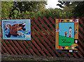 SD4775 : Silverdale Station public art by Ian Taylor