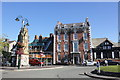 SJ1258 : St Peter's Square, Ruthin by Jeff Buck