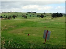 NY6565 : Haltwhistle Golf Course by Andrew Curtis
