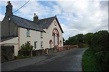 SH3434 : Capel a Thŷ Capel Bethel - Bethel Chapel and Chapel House by Alan Fryer