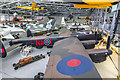 TL4646 : Avro Lancaster at Imperial War Museum, Duxford, Cambridgeshire by Christine Matthews