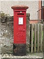 NT9952 : Postbox, Westend Place, Tweedmouth by Graham Robson