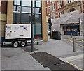 ST3188 : Power Electric generator, High Street, Newport by Jaggery